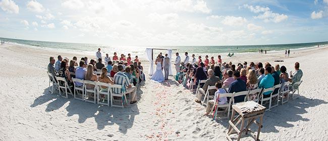 Anna Maria Island Weddings, Beach Wedding Ceremony | The Sunset